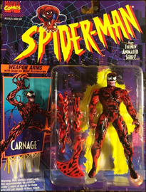 Carnage Weapon Arms with Snap-on Wrist Accessories | Toy Biz 1994 image