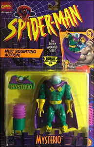 Mysterio - Mist Squirting Action! | Toy Biz 1994 image