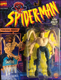 Smythe - Punching Power! / Spider-Man: The Animated Series - Toy Biz 1994