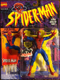 Spider-Man Web Racer with Web Racing Action / Spider-Man: The Animated Series - Toy Biz 1994