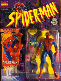 Spider-Man Web Shooter with Web Projectile / Spider-Man: The Animated Series - Toy Biz 1994