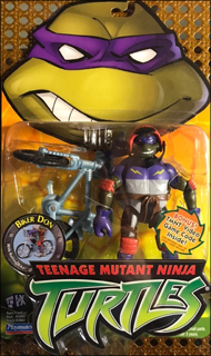 Biker Donatello - The Extreme BMX Bike Riding Turtle! | Teenage Mutant Ninja Turtles (TMNT) - Playmates Toys 2003 image