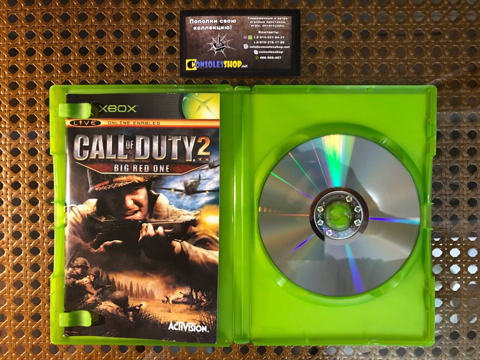 Купить игру Call of Duty 2 Big Red One (XBOX) (PAL