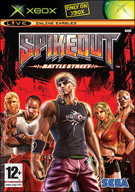 Spikeout Battle Street (Microsoft XBOX) (PAL) cover