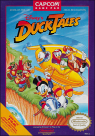 Disney's DuckTales (NES) (NTSC-U) cover