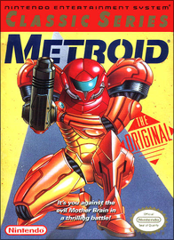 Metroid - Classic Series (б/у) для Nintendo Entertainment System