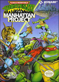 Teenage Mutant Ninja Turtles III: The Manhattan Project (NES) (NTSC-U) cover
