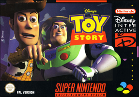 Disney's Toy Story (б/у) для Super Nintendo Entertainment System (SNES)