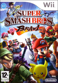 Super Smash Bros. Brawl (б/у) для Nintendo Wii