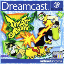 Jet Set Radio (Sega Dreamcast) (PAL) cover