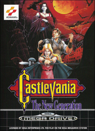 Castlevania: The New Generation (Sega Mega Drive) (PAL) cover