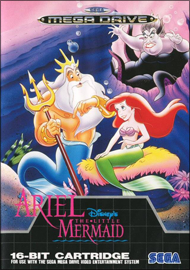 Disney's Ariel: The Little Mermaid (б/у) для Sega Mega Drive