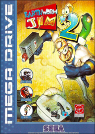 Earthworm Jim 2 (Sega Mega Drive) (PAL) cover