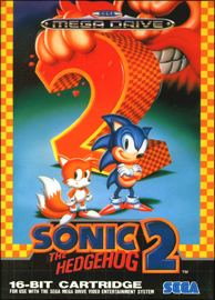 Sonic the Hedgehog 2 (Sega Mega Drive) (PAL) cover