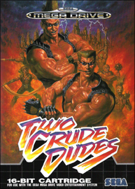 Two Crude Dudes (Sega Mega Drive) (PAL) cover
