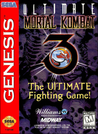 Ultimate Mortal Kombat 3 (б/у) для Sega Genesis