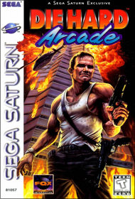 Die Hard Arcade (Sega Saturn) (NTSC-U) cover