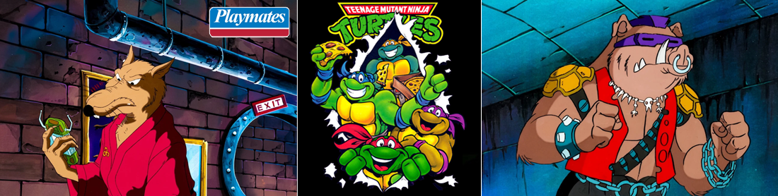 Teenage Mutant Ninja Turtles (TMNT) - Playmates Toys 1988