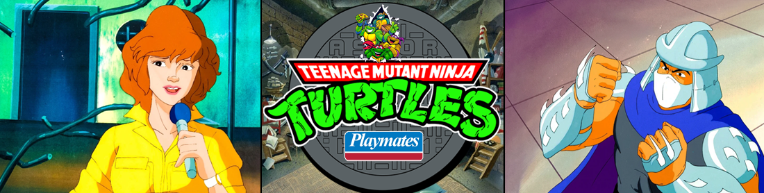 Teenage Mutant Ninja Turtles (TMNT) - Playmates Toys 1988 figures