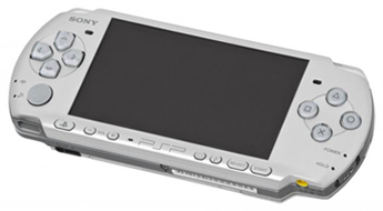 Портативная консоль Sony PlayStation Portable Slim and Lite (б/у) - серая