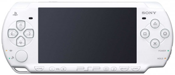 Портативная консоль Sony PlayStation Portable Slim and Lite (б/у) - белая