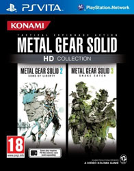 Metal Gear Solid HD Collection для PS Vita
