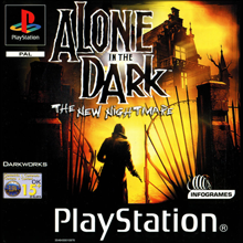 Alone in the Dark: The New Nightmare (Sony PlayStation 1) (PAL) cover