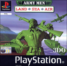 Army Men: Land, Sea, Air (б/у) для Sony PlayStation 1