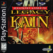 Blood Omen: Legacy of Kain (б/у) для Sony PlayStation 1