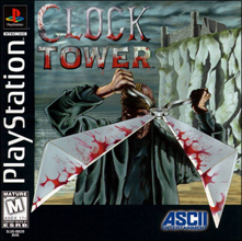 Clock Tower (Sony PlayStation 1) (NTSC-U) cover