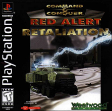 Command & Conquer: Red Alert - Retaliation (Sony PlayStation 1) (NTSC-U) cover