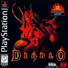 Diablo (Sony PlayStation 1) (NTSC-U) cover