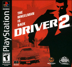 Driver 2 (Sony PlayStation 1) (NTSC-U) cover