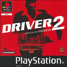 Driver 2 (Sony PlayStation 1) (PAL) cover