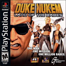 Duke Nukem: Land of the Babes (б/у) для Sony PlayStation 1