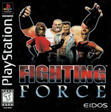 Fighting Force (б/у) для Sony PlayStation 1