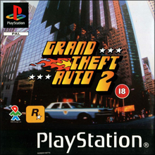 Grand Theft Auto 2 (Sony PlayStation 1) (PAL) cover