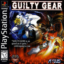 Guilty Gear (Sony PlayStation 1) (NTSC-U) cover