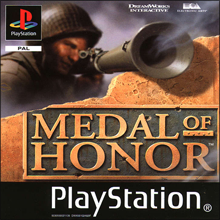 Medal of Honor (Sony PlayStation 1) (PAL) cover