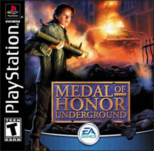 Medal of Honor Underground (Sony PlayStation 1) (NTSC-U) cover