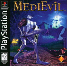 MediEvil (Sony PlayStation 1) (NTSC-U) cover