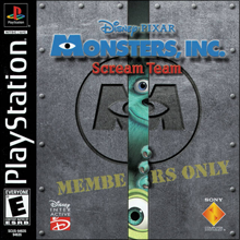 Monsters, Inc. Scream Team (Sony PlayStation 1) (NTSC-U) cover