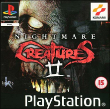 Nightmare Creatures II (Sony PlayStation 1) (PAL) cover