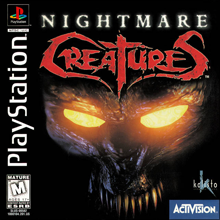 Nightmare Creatures (Sony PlayStation 1) (NTSC-U) cover