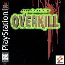 Project Overkil (Sony PlayStation 1) (NTSC-U) cover