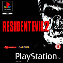 Resident Evil 2 (Sony PlayStation 1) (PAL) cover