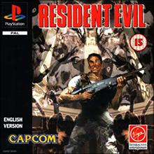 Resident Evil (Sony PlayStation 1) (PAL) cover