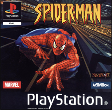 Spider-Man (Sony PlayStation 1) (PAL) cover