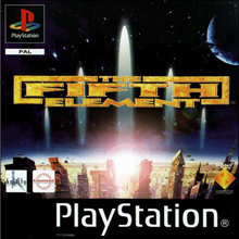 The Fifth Element (Sony PlayStation 1) (PAL) cover