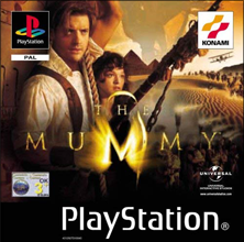 The Mummy (Sony PlayStation 1) (PAL) cover